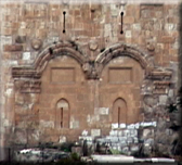 photo of the Eastern Gate in Jerusalem.